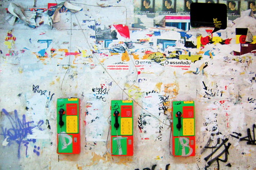 Bangkok pay phones