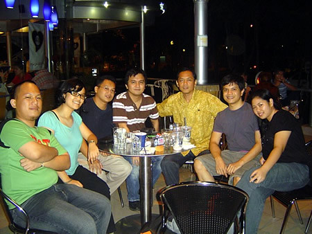 Davao Bloggers Party Organizers @ Blugre MTS