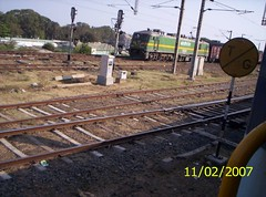 TG sign (pdg50) Tags: chhattisgarh dongargarhrajnandgaonsectionsoutheasternrailwayofindianrailways