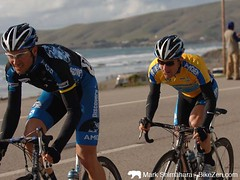 Great Mark Shimahara shot of Basso leading Levi down along the ocean