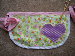 Lovely Little Fairy apron - front