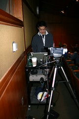 Dickson Recording (mastermaq) Tags: vancouver events conferences northernvoice mastermaq dicksonwong nv2007 nv07
