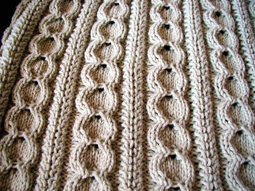 Inspired Crochet Design: Crochet Cable Scarf