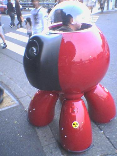 Robot de transporte personal