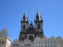 Church of Our Lady before Tn (JUDGE DREDD76) Tags: 2005 trip prague euro praha czechrepublic churchofourladybeforetn