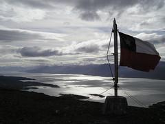 From Cerro Bandera towards Ushuaia