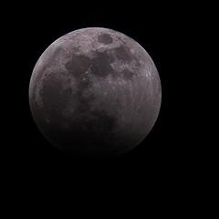 Moon enters umbra
