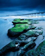 Moss Rocks at Ocean Beach (Lightchaser) Tags: california landscapes seascapes piers pacificocean oceanbeach sunrises sandiegocounty fujivelvia naturesfinest mywinners sd97115