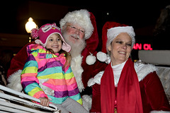 Old Fashioned Village Christmas - Babylon Village, Long Island (BabylonVillagePhotos) Tags: old fashioned village christmas night shopping babylon chamber commerce chamberofcommerce people santa clause movies carousel ride horse kids fun carraige claus mrs drawn