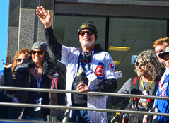 Joe Madden (tacosnachosburritos) Tags: chicago cubs crowd parade man guy fan woman girl lady autumn baseball north michigan avenue rally chick kids championship world series champs 2016 cheers applauds anticipation joy happy street photography thestreets glory magnificentmile players bus trolley humanity humanrace people