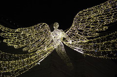 Oxford street - Londres (FGuillou) Tags: london londres noel christmas merry décoration 伦敦 city night light angel