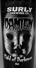 Surly Damien Child of Darkness Ale (rabidscottsman) Tags: scotthendersonphotography beer recipe surly chili childofdarkness child darkness food meal face beerbottle label mn minnesota minnesotabeer blackandwhite bw saturday weekend samsung samsunggalaxy6 galaxy6