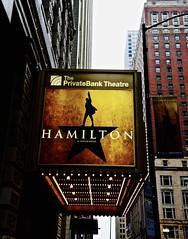 Hamilton - Chicago IL (Meridith112) Tags: neonsign neonsigns theater theatre musical chicago chicagoist cookcounty midwest nikon nikon2485 nikond610 2016 december winter wscf westsuburbanchicagoflickrers westernsuburbanchicagoflickr flickrgroupmeetup flickrmeetup privatebanktheatre hamilton anamericanmusical formlythebankofamericatheatre
