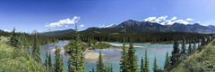 Bow River -  Banff National Park, Alberta, Canada (Charles Davis Smith - AIA   Photographer) Tags: bowriverpanoramicbanff albertacanada banffnationalparkalberta canada nationalparkscanada canadianrockymountains iphonephotography fineartphotography dallastexasarchitecturalphotographers charlesdavissmithphotographer charlesdavissmithaiaphotographer chucksmith dallasarchitecturalphotographers texasphotographers texasarchitecturalphotographer texasarchitecturalphotography alberta