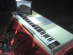 $100,000 Fairlight vintage keyboard (thomas pix) Tags: nyc travel music keyboard treo650 witness fairlight