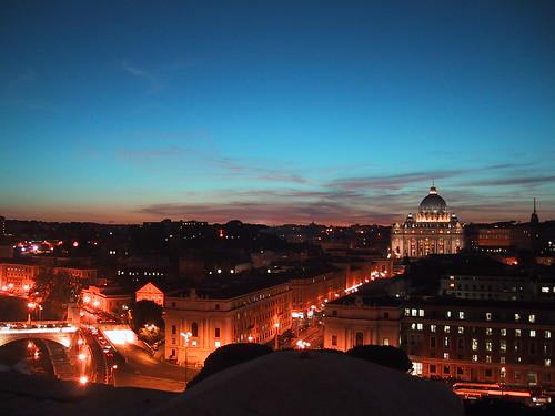 Rome by night by svenjick