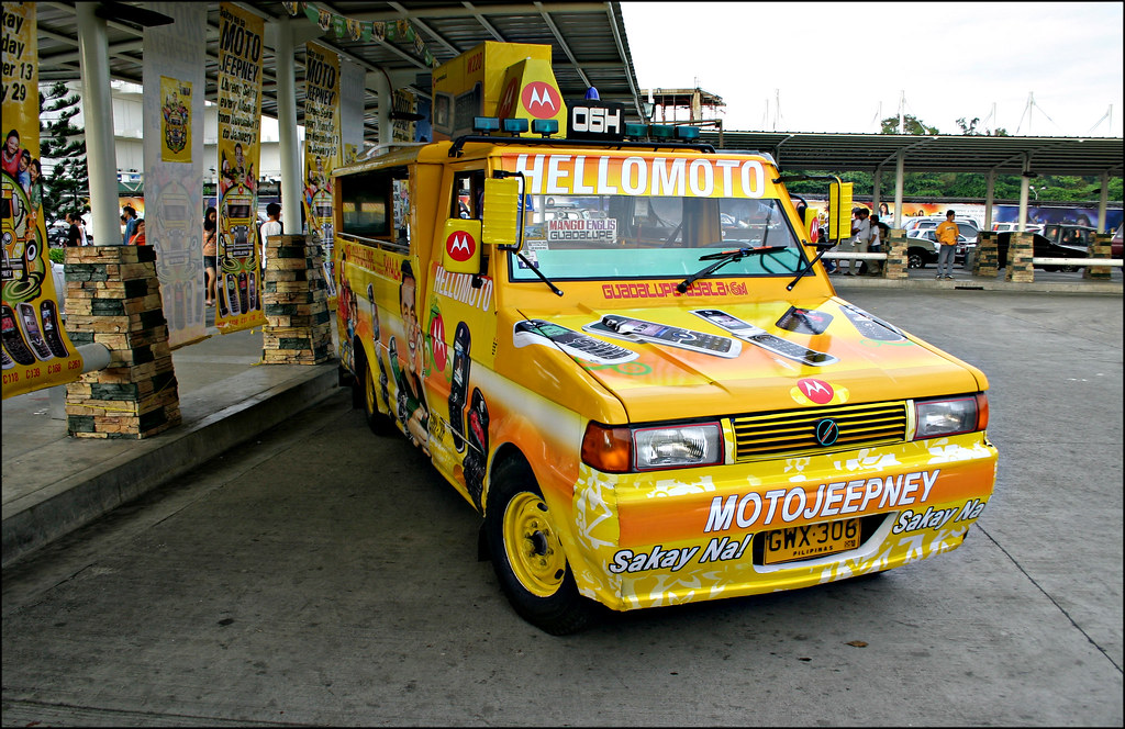 HelloMoto Jeepney