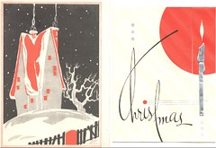 Two Vintage Christmas Cards