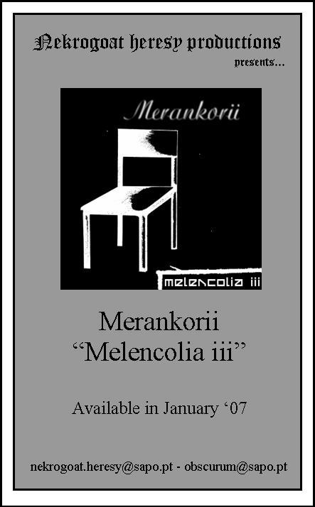 Melencolia III Flyer