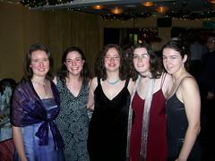 Becky, Sarah, Jeni, Jen and Rosie
