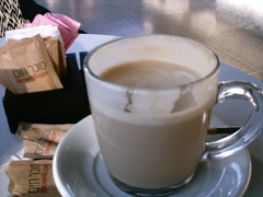 COFFEE BREAK IN AROMA CAFE (danlan88it/Dani) Tags: coffee cafe capucino coffeebreak