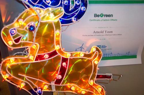 Arnold's Crazy Reindeer!