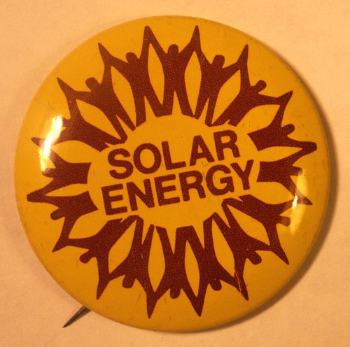 Solar Energy Button