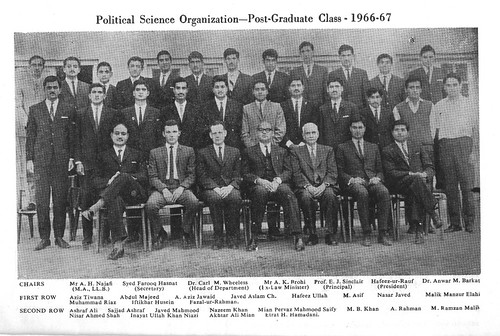 F. C. COLLEGE-CLASS OF 1968 - a photo on Flickriverfc college