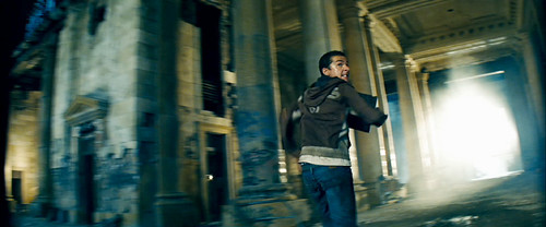 Sam y cubo de energia en Transformers