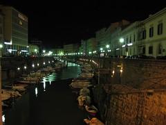 I Fossi (Stranju) Tags: longexposure night italia toscana livorno notte fossi nigtshot fotonotturne canonpowershots3is abigfave stranju withcanonican