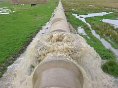Sewer overflow near AISA treament plant (solidaridad_bolivia) Tags: elalto aisacontamination