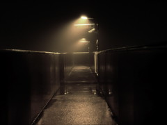 The Fog (edwardkb) Tags: christmas xmas winter mist fog night train nacht grim transport gloom nuit dsct7 joytotheworld ruvjet aplusphoto edwardbarnieh