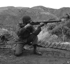 WWII 101st Airborne Paratrooper (14) (Templar1307) Tags: usa vintage army uniform m1 military wwii rifle ww2 airborne reenactor usarmy 101st paratrooper m1garand