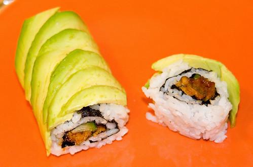 Serving Size: 1 roll Caterpillar Roll