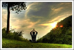 in a Timeless State ! (rAmmoRRison) Tags: india yoga meditation top20india nikonstunninggallery rammorrison bsbpeaceful