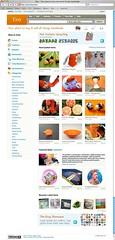 Etsy Front Page Screenshot 12-23-06 (purplepapaya) Tags: screenshot mac handmade crafts web internet jewelry safari etsy