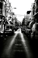 (Grace_L) Tags: street city urban bw digital israel telaviv nikon d70s highcontrast