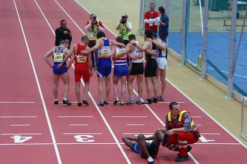 "Linz - World Master Veterans Athletics Championship Indoor. Glory & Misery • <a style=""font-size:0.8em;"" href=""http://www.flickr.com/photos/26679841@N00/333074169/"" target=""_blank"">View on Flickr</a>"