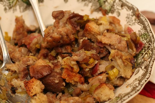 Italian Sausage Chestnut Stuffing (Recipe) (Cook-Italian.com!)