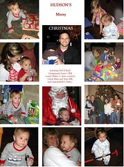 Hudson Christmas Collage