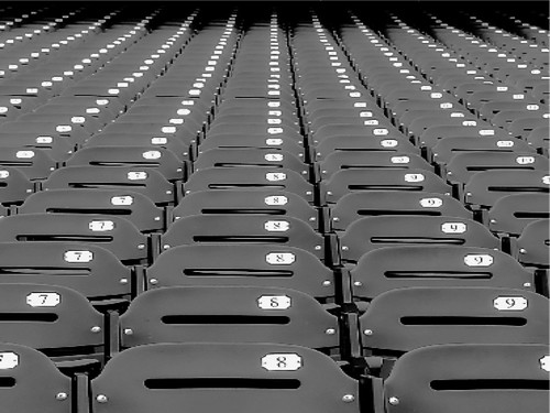 AT+T Park Empty Seats