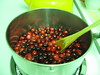Cranberry Sauce being made