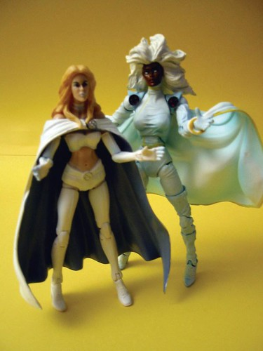 Emma Frost and Storm