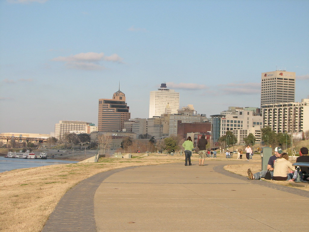Sky line of Memphis