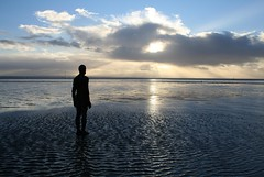 Antony Gormley's Another Place, Crosby Beach (alancookson) Tags: liverpool antonygormley anotherplace crosbybeach