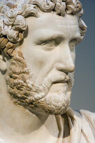 Busto de Adriano, No es el autor de la cita