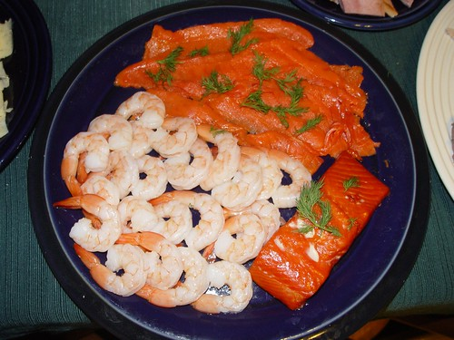 Smoked Salmon and Shrimp