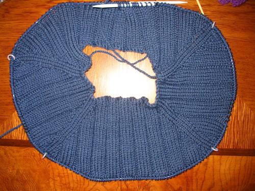 Husband Sweater, 2nd try
