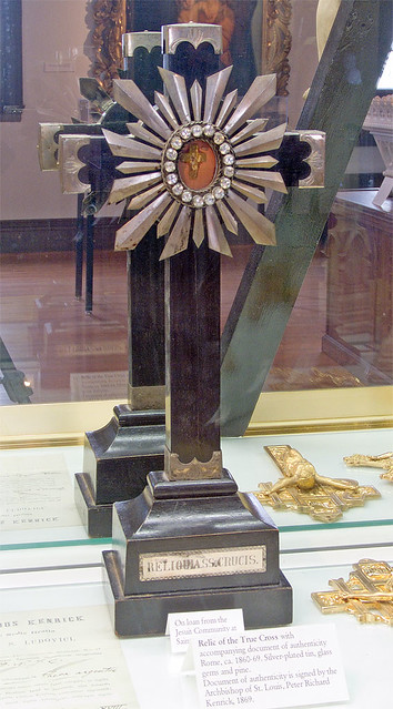 Saint Louis University Art Museum, in Saint Louis, Missouri - Collection of the Western Jesuit Missions - Relic of the True Cross.jpg