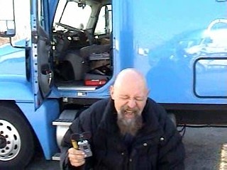 Trucker Tom Receiving the